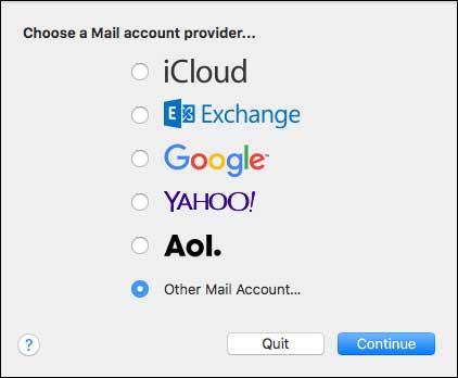 Freecom Apple Mail Email Setup Guide