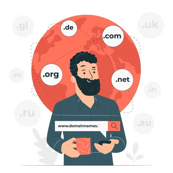 Register Domain Names through Freecom Internet Services