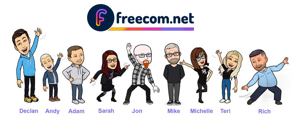 Meet the Freecom Team