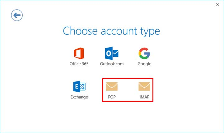 Outlook 2016 Email Setup from Freecom Internet Services